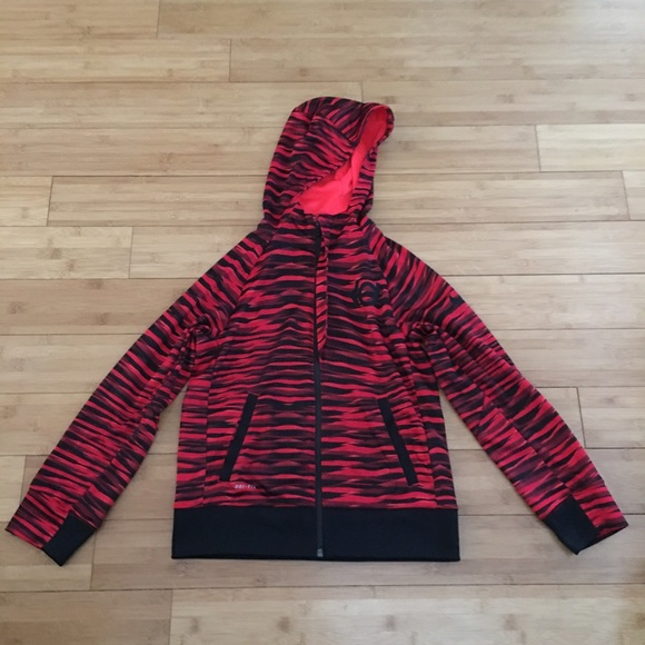 Nike Other - NIke KD dri fit kids medium zip up red and black